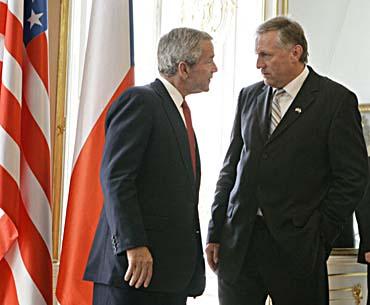 Bush - Topolanek