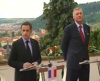 Sarkozy - Topolanek